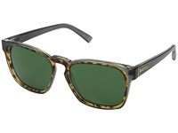 Von Zipper Levee Grey Tort Green Sport Sunglasses Gray