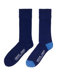 Levi's 2 Pack Seasonal Regular Sock Blue