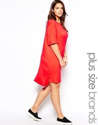 Alice And You T Shirt Dress Coral