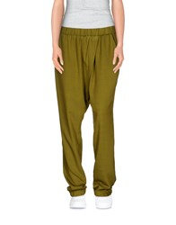 Minimum Trousers Casual Trousers Women Green