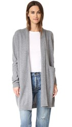 Vince Cashmere Sweater Coat H Stone