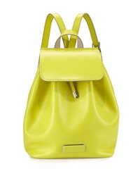 Marc By Marc Jacobs Ligero Leather Flap Top Backpack Yellow Zest