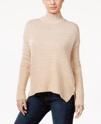 Calvin Klein Jeans Striped Boucle Sweater Nude Blush