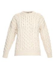 Joseph Chunky Cable Knit Wool Sweater