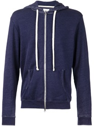 Fadeless 'Burn Out' Hoodie Blue