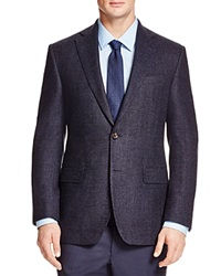 Jack Victor Loro Piana Dream Tweed Classic Fit Sport Coat Navy