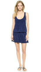 Splendid Sunblock Solids Cover Up Navy