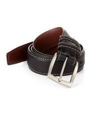 Saks Fifth Avenue Bison Belt
