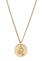 Sweet Deluxe Leo Necklace Goldcoloured