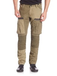 Prps Cotton Lightweight Canvas Cargo Pants Green