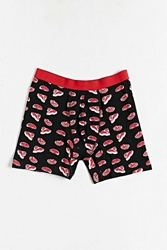 Urban Outfitters Meat Cuts Boxer Black