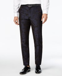 Inc International Concepts Men's Slim Fit Pixelated Camouflage Pants Only At Macy's Navy