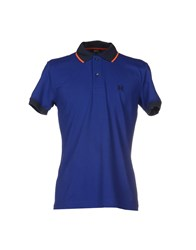Husky Topwear Polo Shirts Men Blue