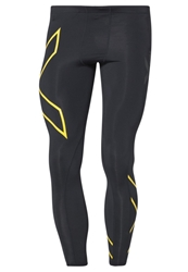 2Xu Compression Tight Tights Black Fly