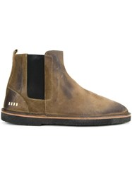 Golden Goose Deluxe Brand 'City' Ankle Boots Brown