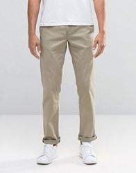 Wrangler Chino In Camel Camel Washed Brown