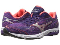 Mizuno Wave Catalyst Pansy Diva Pink Silver Women's Running Shoes Purple
