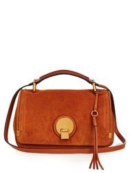 Chloe Indy Medium Leather Shoulder Bag Tan
