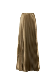 Barbara Casasola Pleated Long Skirt