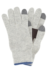 Original Penguin 'Bordwell' Knit Gloves Light Ash