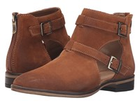 Chinese Laundry Dandie Whiskey Suede Women's Boots Tan
