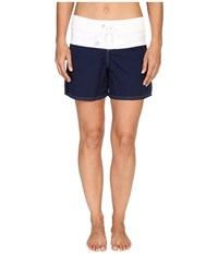 Tommy Bahama Color Block 5 Boardshorts Mare Navy Women's Swimwear