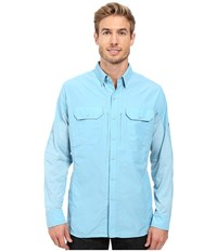 Kuhl Airspeed Long Sleeve Top Sky Blue Men's Long Sleeve Button Up