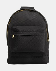 Mi Pac Satin Mesh Backpack Black