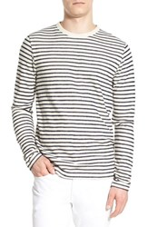 Men's French Connection 'Stripe Out' Crewneck Sweater