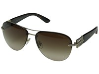 Versace Ve2159b Pale Gold Brown Gradient Fashion Sunglasses