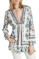 Free People Women's Violet Hill Tunic Ivory