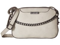 Jessica Simpson Brixton Double Zip Crossbody Cloud Grey Cross Body Handbags Multi