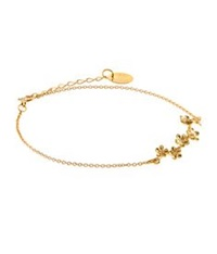 Alex Monroe Forget Me Not Bracelet Gold