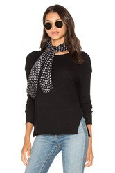 Lna Cozy Waffle Pullover Sweater Black