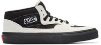 Gosha Rubchinskiy Black And Grey Half Cab Lx Vans Edition High Top Sneakers