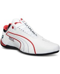 Puma Men's Future Cat M1 Bmw Casual Sneakers From Finish Line White High Risk Red