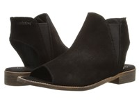 Coolway 1Ciara Black Nappa Oiled Suede Women's Shoes