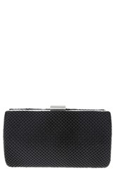 Nina Metal Mesh Box Clutch