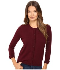 Kate Spade Somerset Cardigan Midnight Wine Women's Sweater