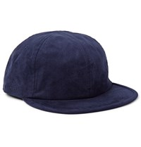 Saturdays Surf Nyc Canyon Faux Suede Baseball Cap Blue