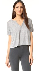 Honeydew Intimates Cloud Nine Lounge Tee Heather Grey