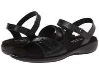Walking Cradles Sky 3 Black Nappa Women's Sandals