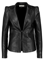 Noisy May Nmemily Faux Leather Jacket Black
