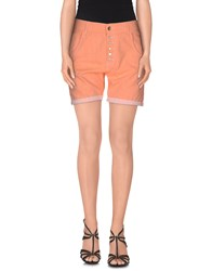Jcolor Denim Denim Bermudas Women Salmon Pink