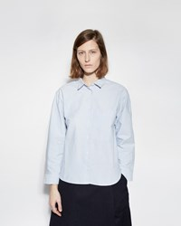 Mhl By Margaret Howell Big Pocket Shirt Blue