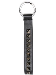Valentino Garavani 'Rockstud' Key Holder Black