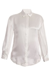 Temperley London Bluebell Ls Silk Shirt