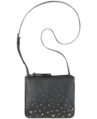 Nine West Jaya Grommet Crossbody Black Stars