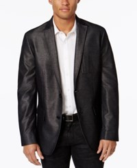 Inc International Concepts Men's Black Slim Fit Blazer Only At Macy's