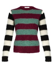 Max Mara Pedale Sweater Purple Multi